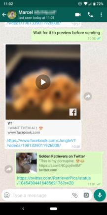 WhatsApp Beta 2 18 301 brings picture-in-picture video
