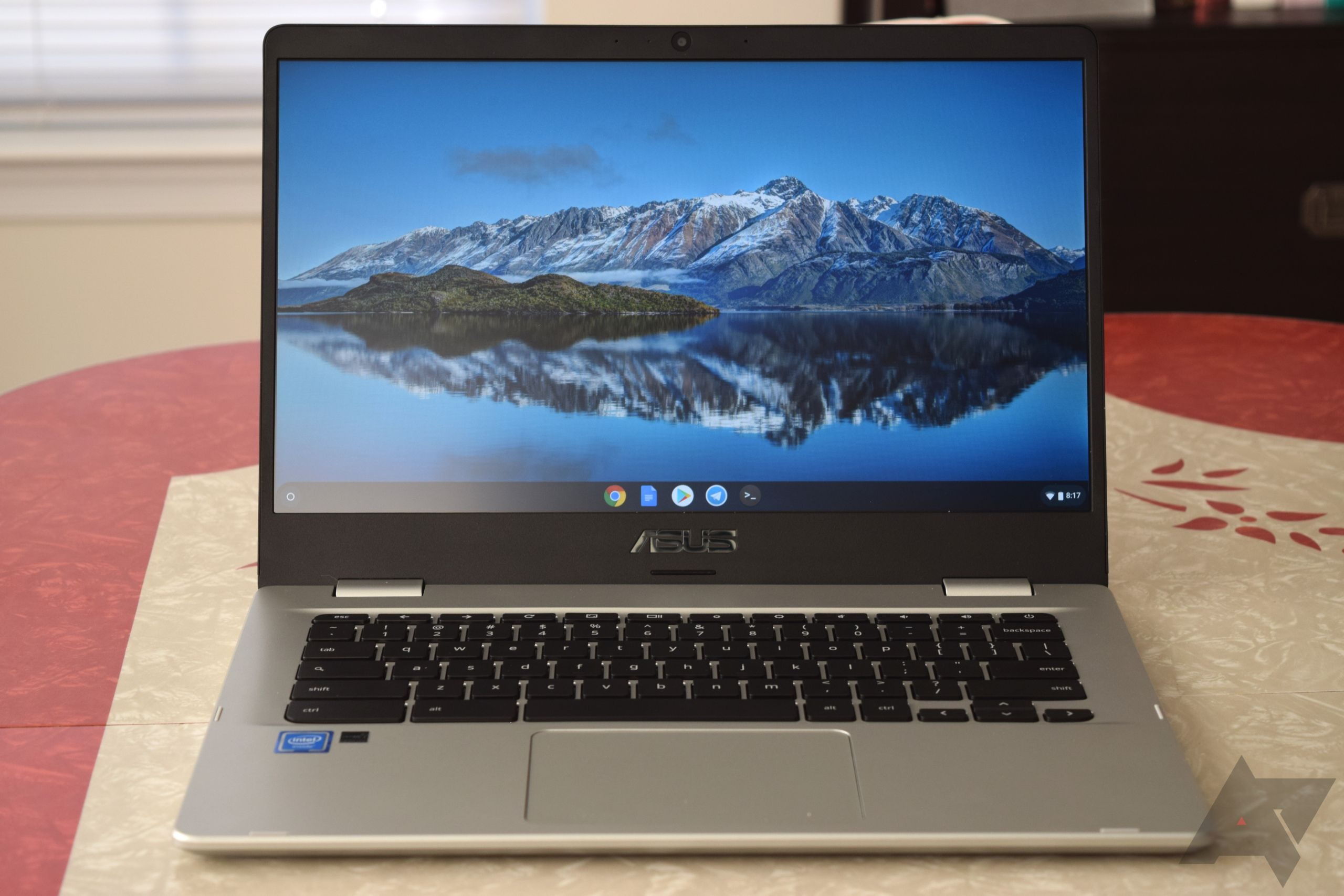 Asus Chromebook C423NA review: A cheap, big laptop with some