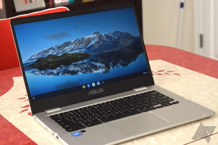 Asus Chromebook C423na Review A Cheap Big Laptop With