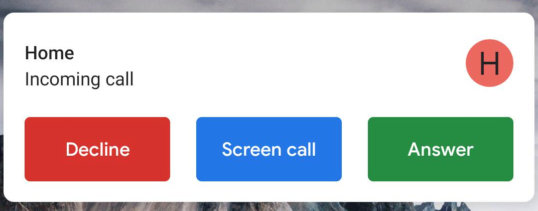 Call Screen is starting to hit some Pixel 2 and Pixel 2 XL phones