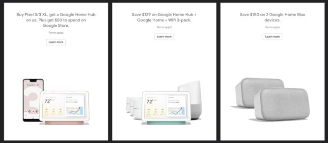 Google Store谷歌商店黑五优惠: