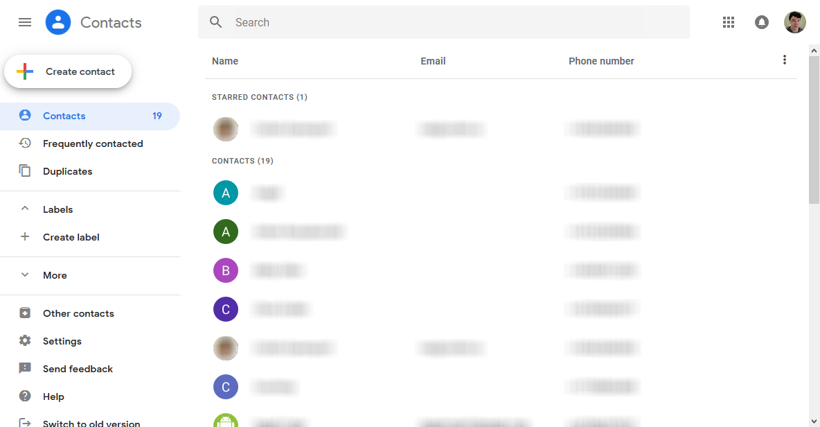 New Google Contacts web app is here to stay, becoming only