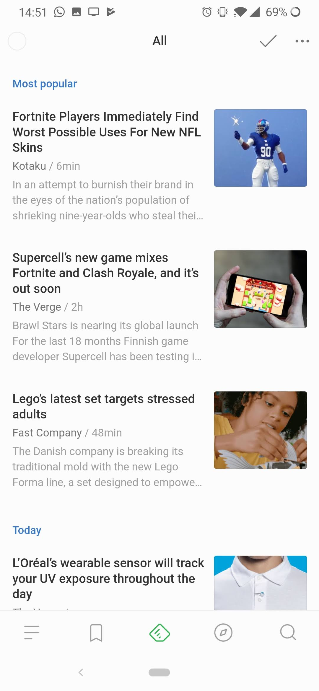 Update: Now in stable] Feedly's long-awaited redesign