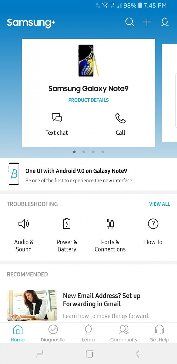 Update: Beta arriving] Samsung's One UI Pie beta now