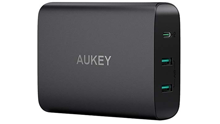 Aukey's 60W USB-C PD charger is $37 ($13 off) with coupon