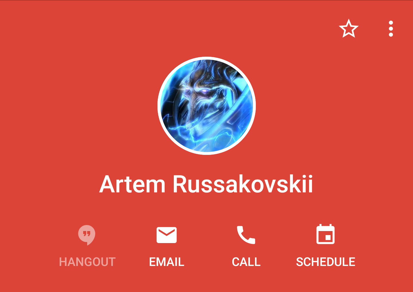 Update: Also in Gmail] Google contact cards get a new look