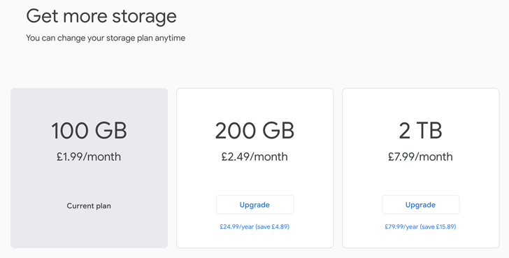 Google One's storage plans start rolling out in the UK and Canada