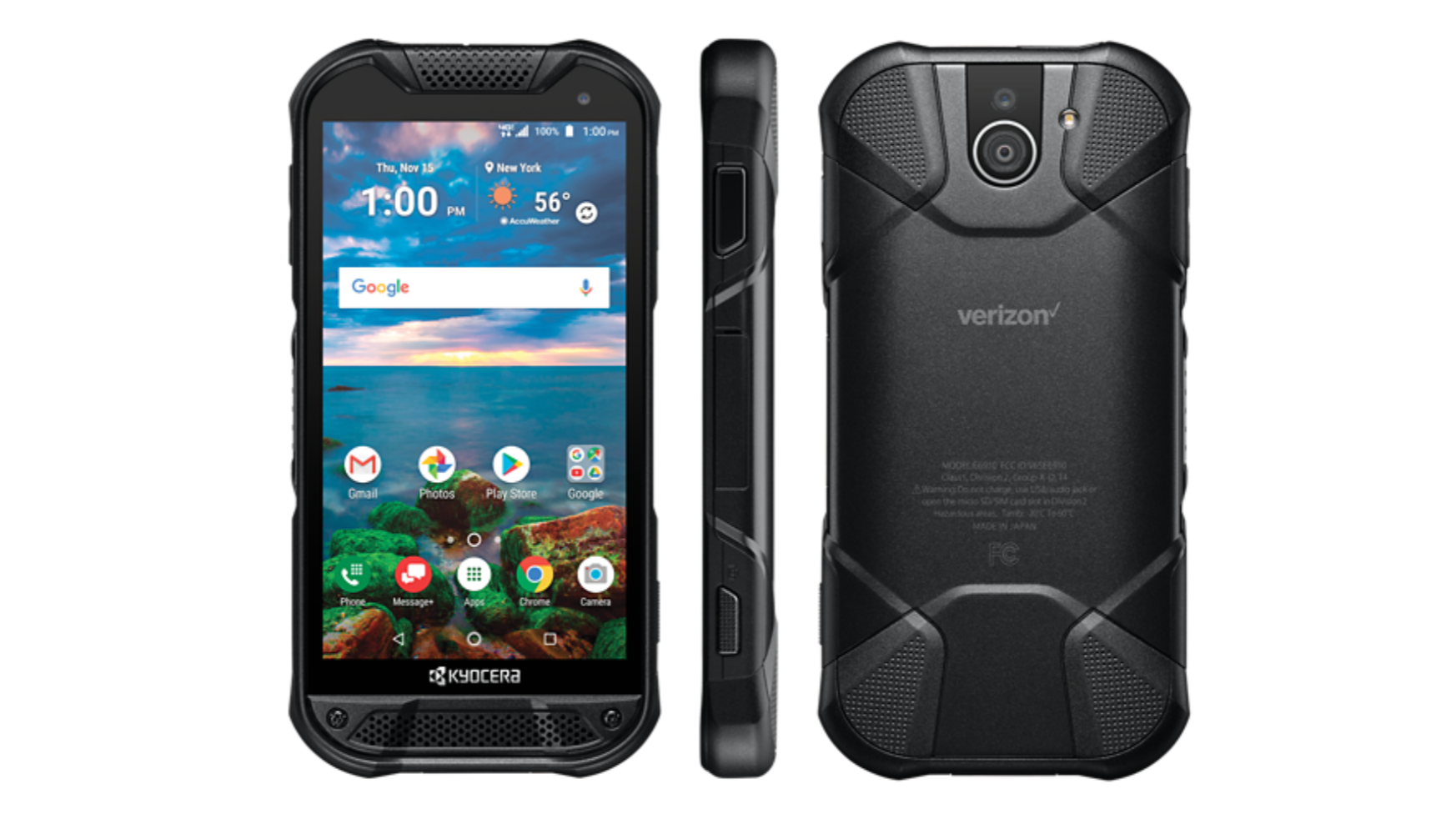 Verizon Exclusive Phone Sports A Rugged