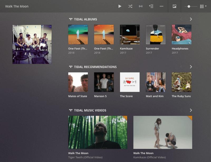 Plex adds new Tidal integration, artist radio stations, and