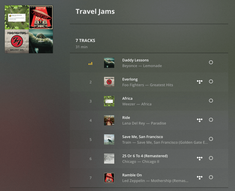 Plex adds new Tidal integration, artist radio stations, and