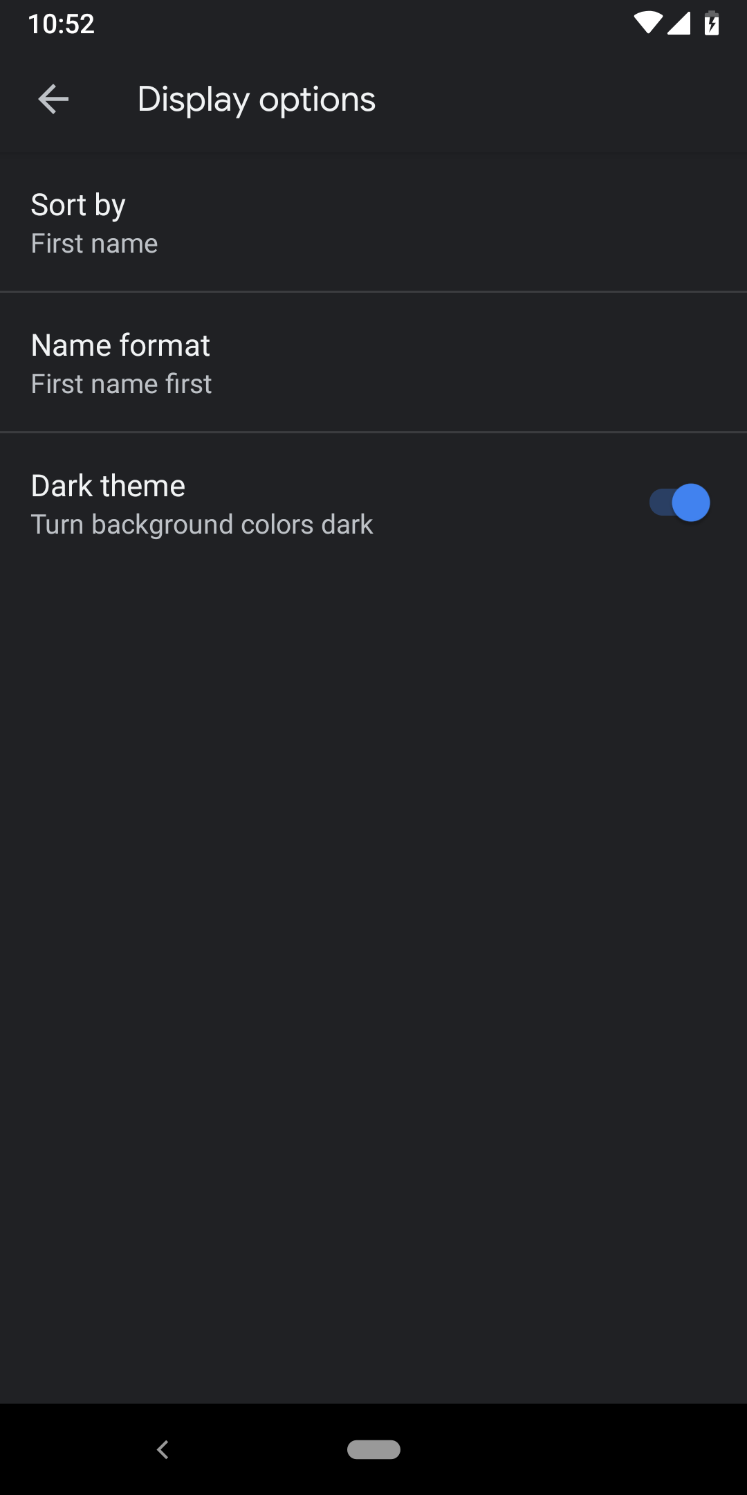 Google Phone v26 dark theme is here [APK Download]