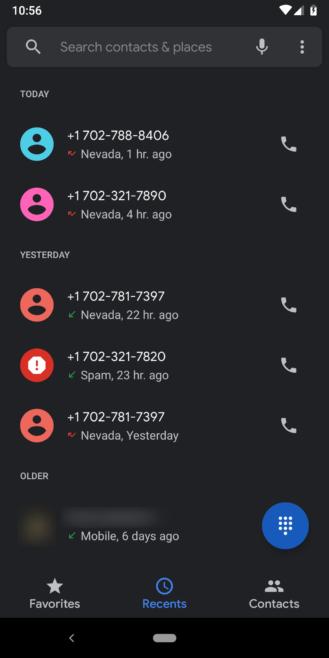 Google Phone v26 Dark Theme is here [APK Download]