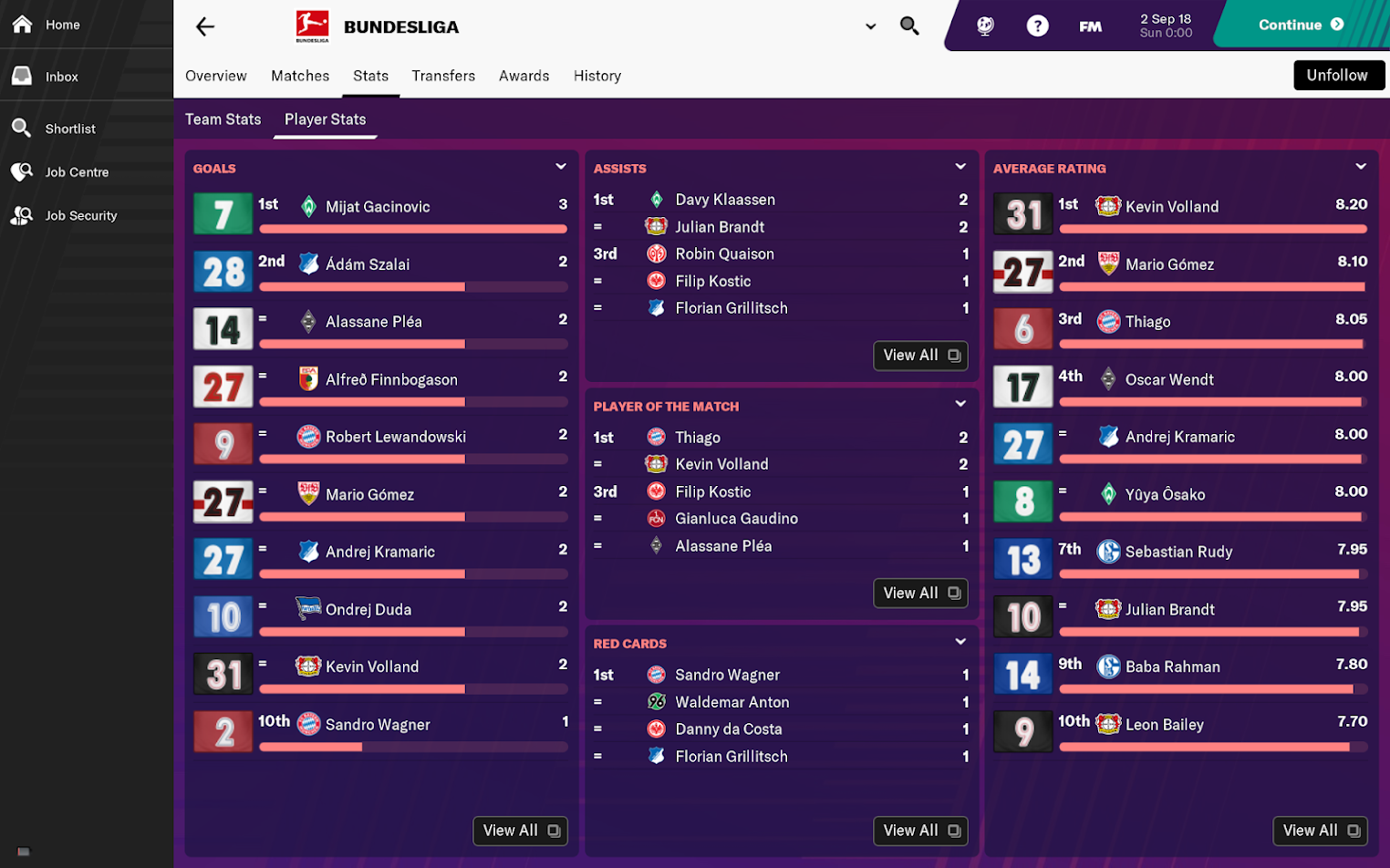 Sega's Football Manager 2019 Mobile and Football Manager 2019 Touch