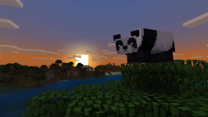 minecraft 1 8 adds pandas bamboo and crossbows cool stuff you want