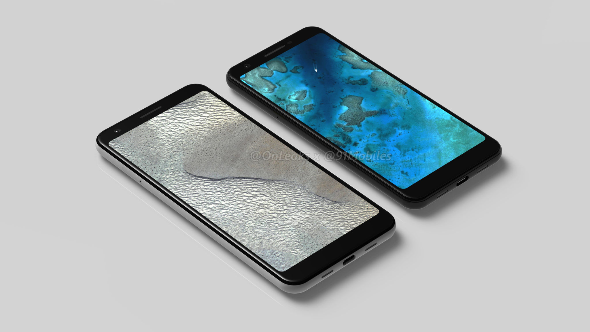 Google's Pixel 3 XL Leaks Out in New Renders