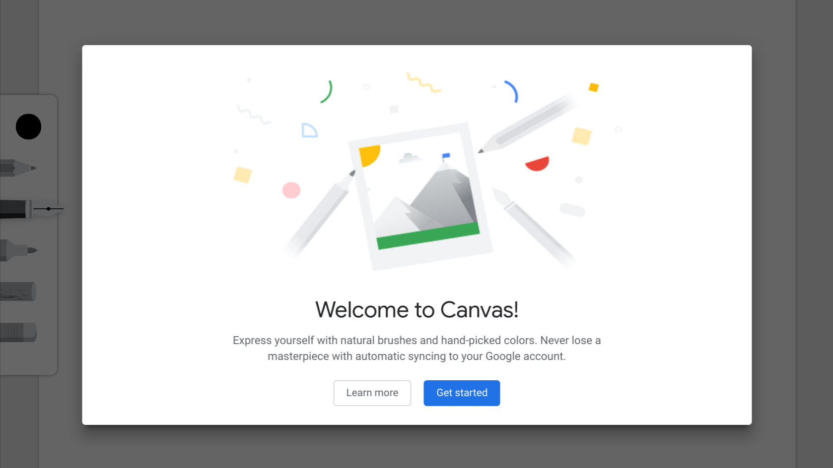 Google Chrome Canvas PWA brings low-latency doodling to