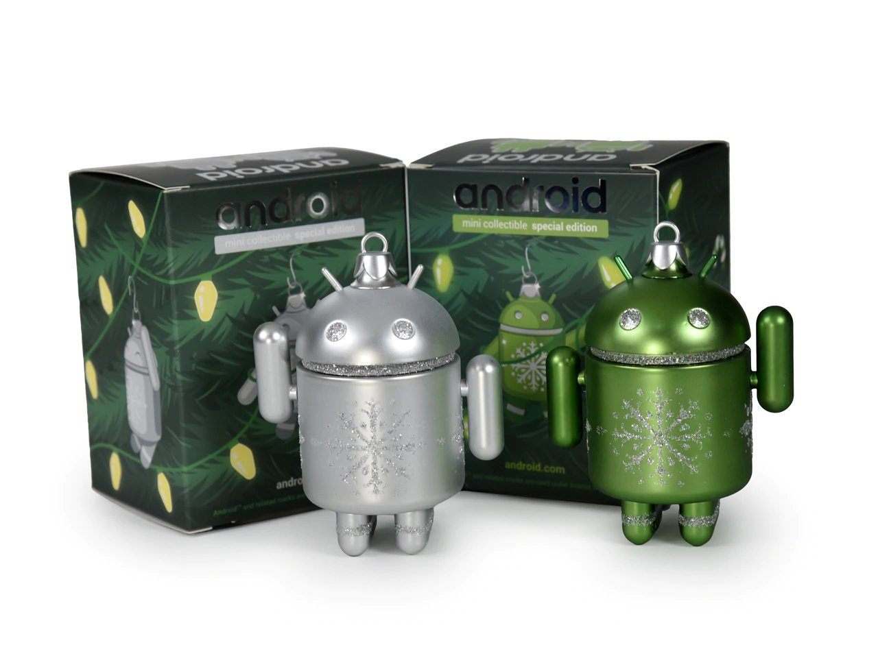 Dead Zebra's Android mini holiday ornaments go on sale December 12 at 11AM ET