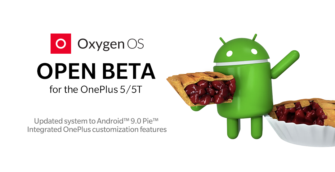 Android 9 Pie arrives on the OnePlus 5 and 5T with Open Beta 20/22