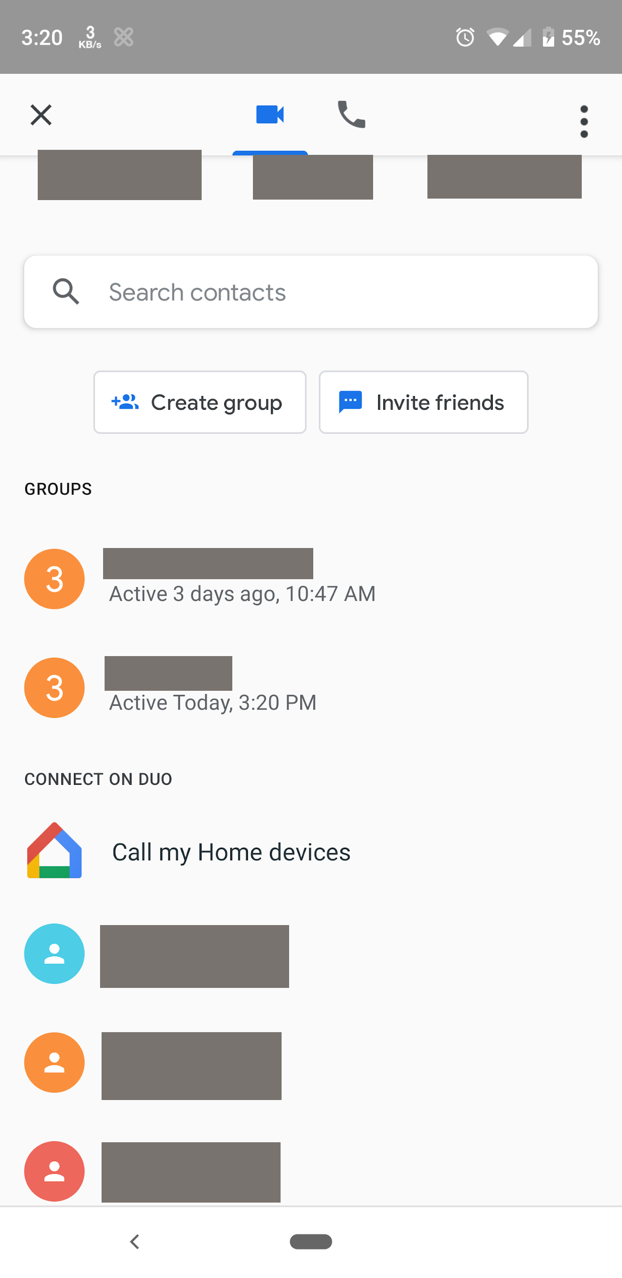 First look: Google Duo tests group calling feature and low light mode