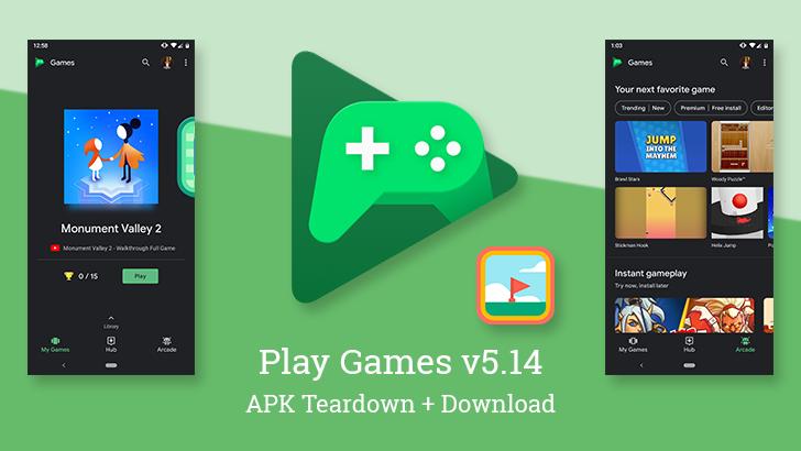Google Play Games V5 14 Enables Dark Theme For All Prepares