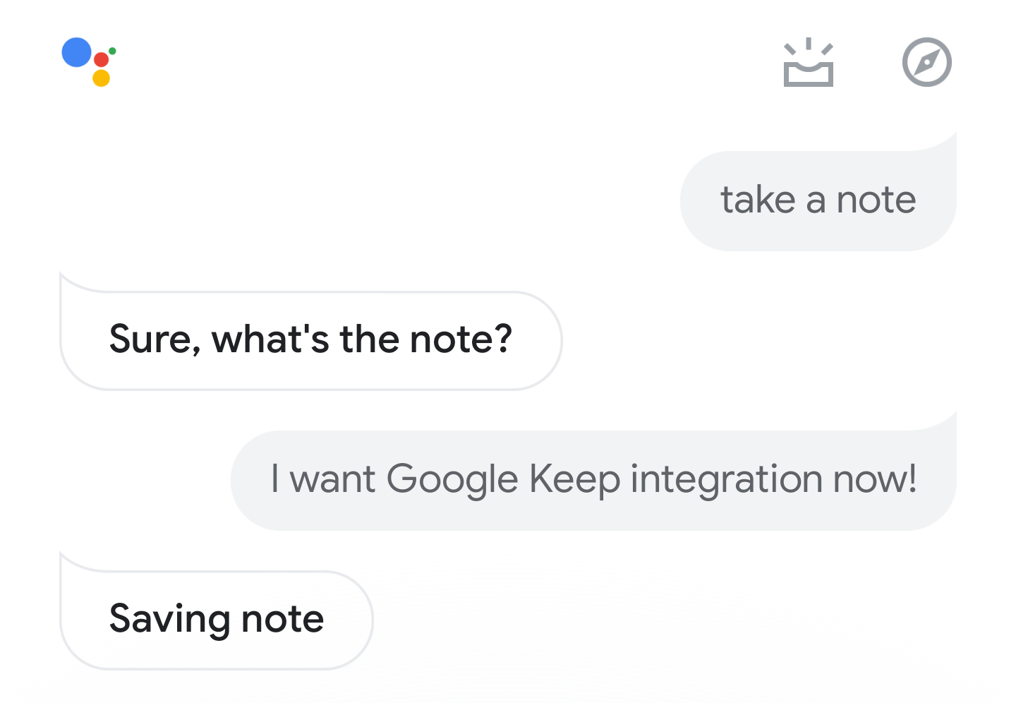 Google Assistant notes and lists are live for some, still no