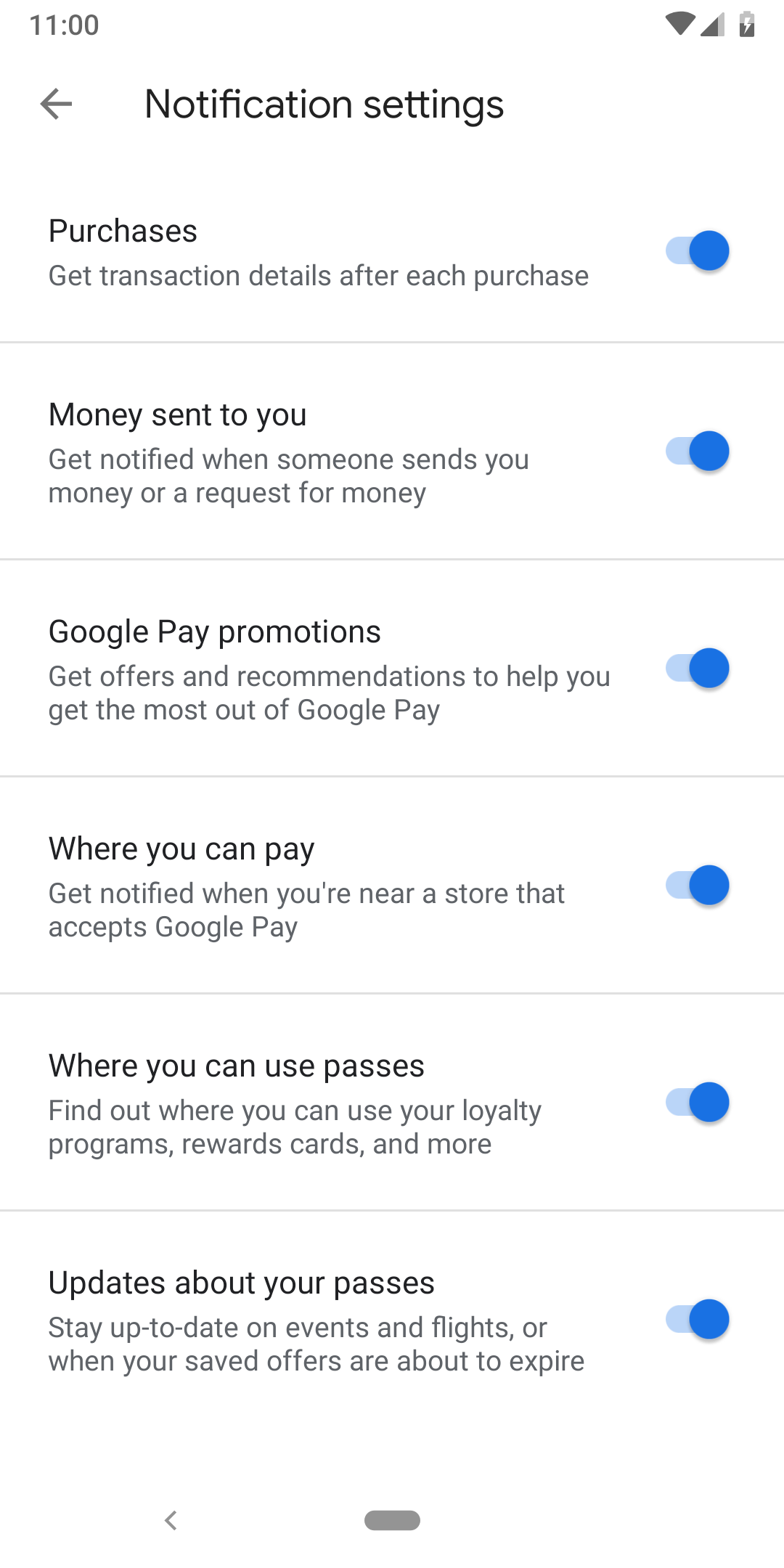 Google Pay v2.80 adds notification setting for places to ...
