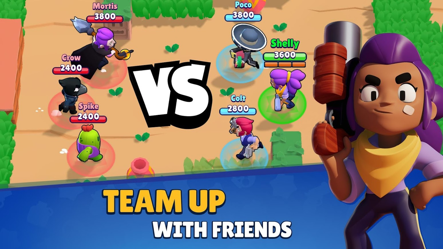 Brawl Stars busts loose on Android with app's global release
