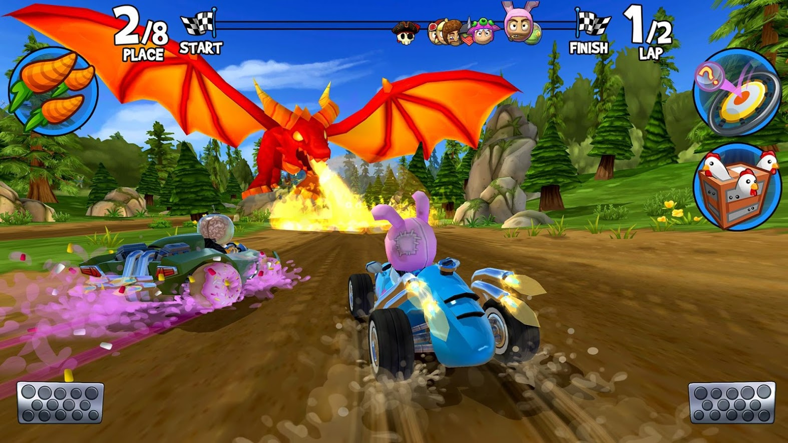 Beach Buggy Racing 2 is out on Android