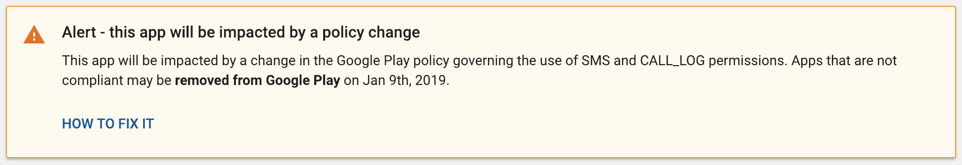 Google's new SMS and call permission policy is crippling