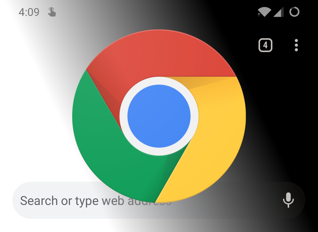 Google is working on adding dark mode to Chrome for Android