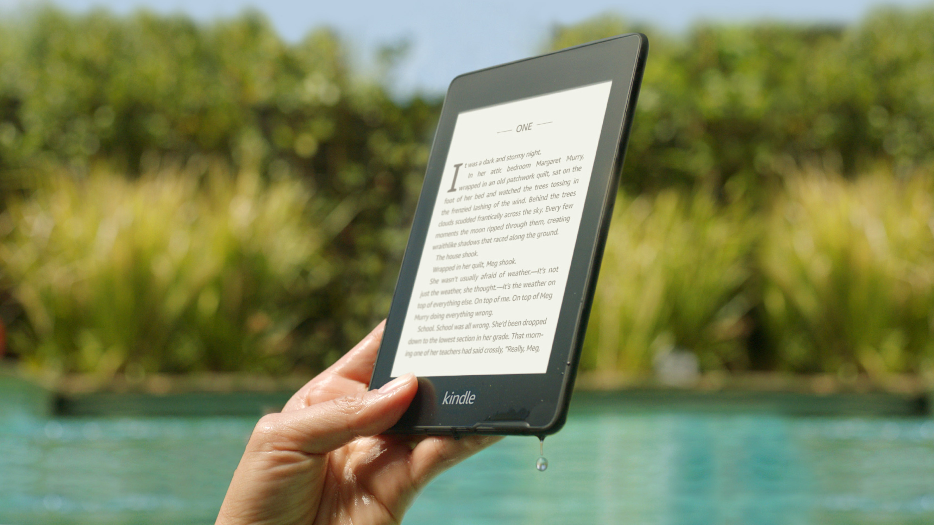 Latest waterproof Kindle Paperwhite is $90 ($40 off), its lowest price yet