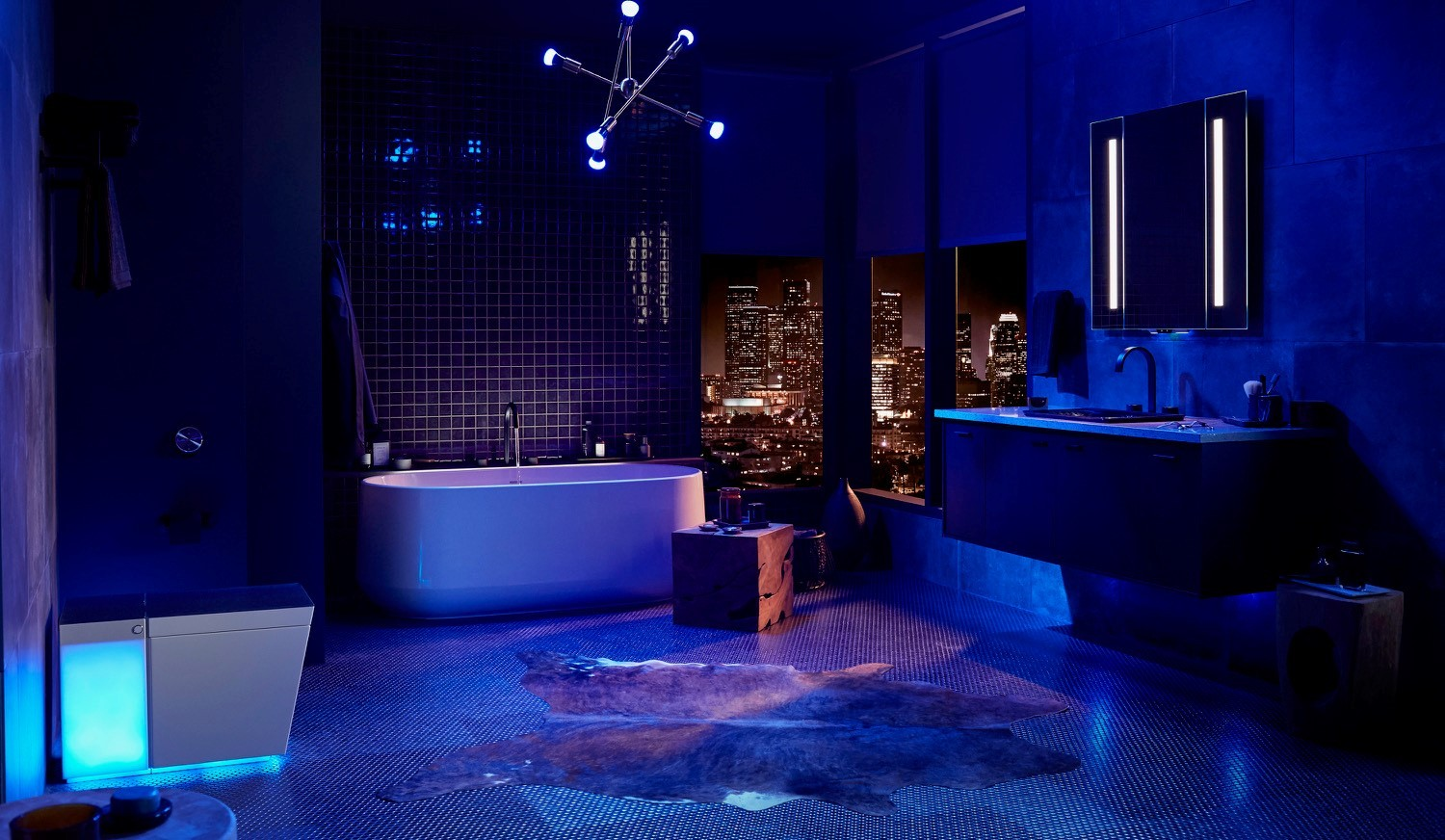 Kohler unveils updated smart toilet, mirror, and other voice