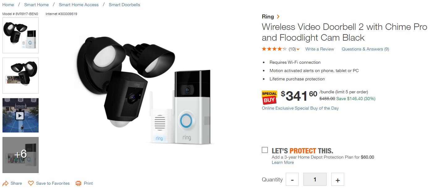 Ring Video Doorbell 2 Chime Pro Review