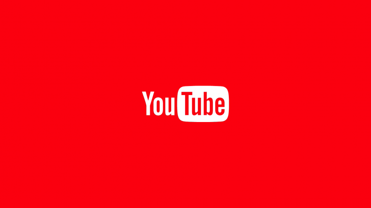 The YouTube logo is displayed.
