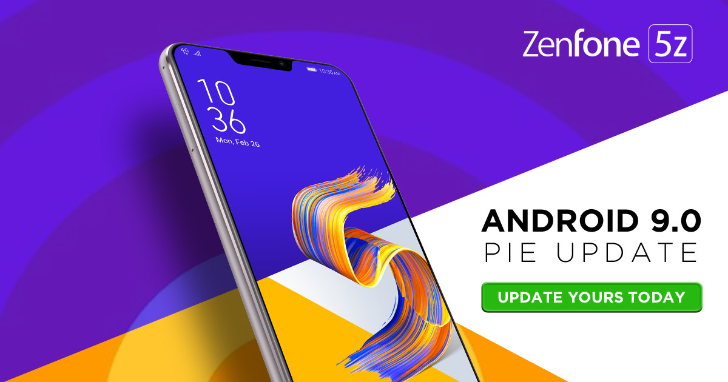 Asus Zenfone 5Z (ZS620KL) gets Android 9 Pie update