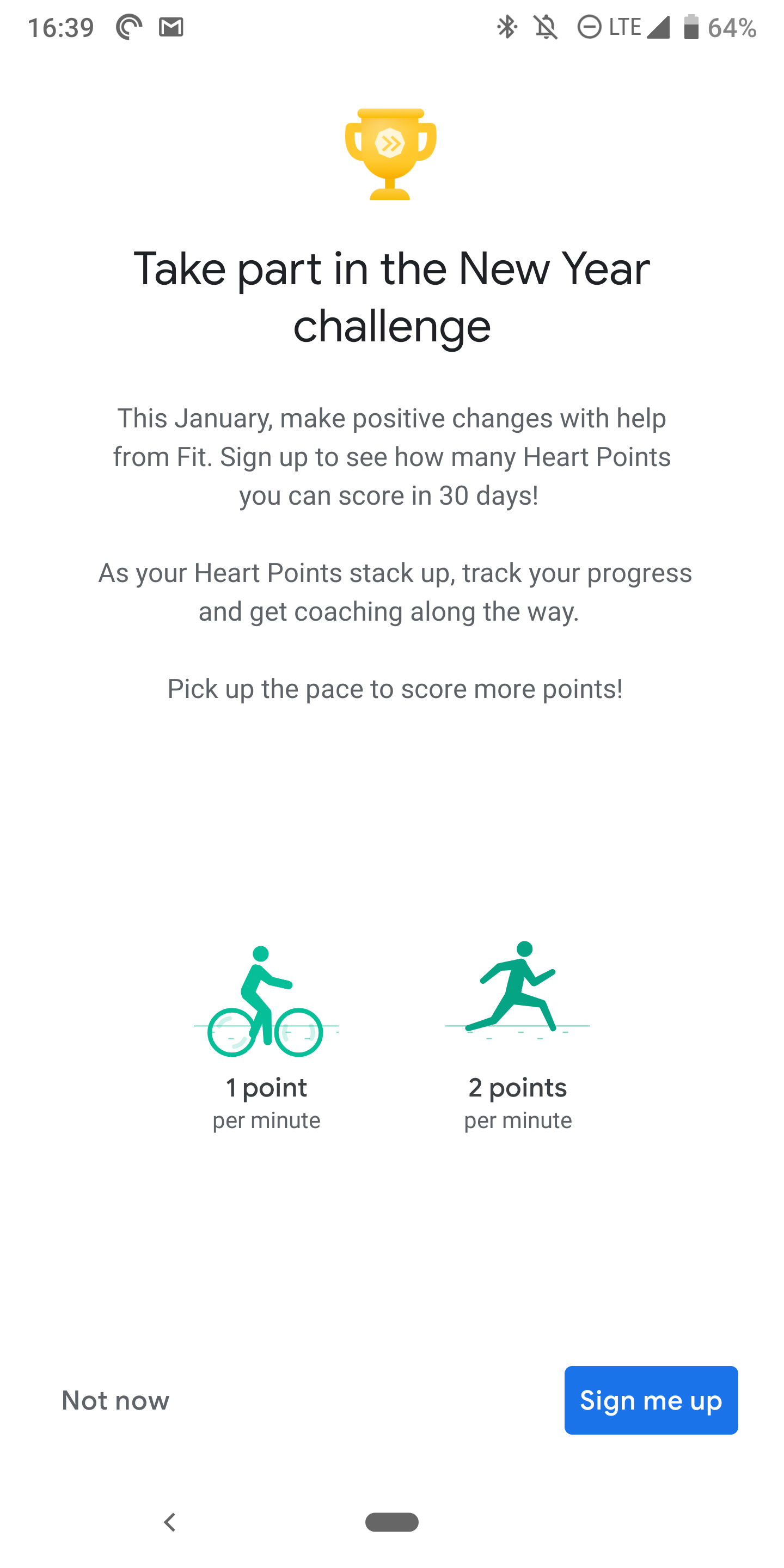 Google Fit launches monthly challenges to keep you moving