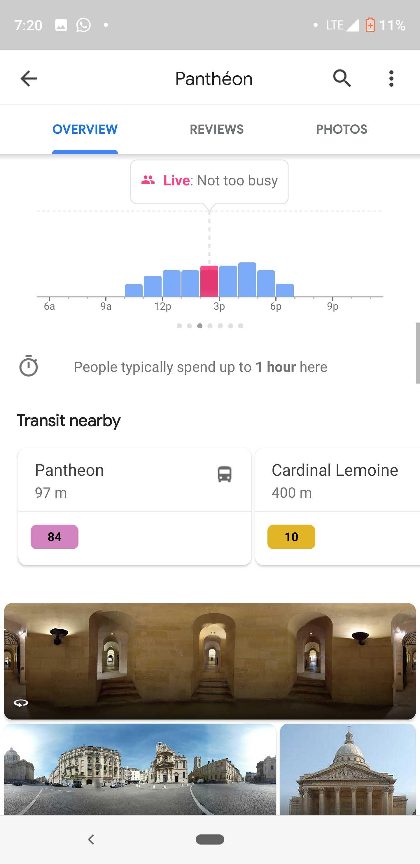Google Maps facilite enfin les déplacement en transports en commun ! By DETOURS Google-maps-transit-nearby-5
