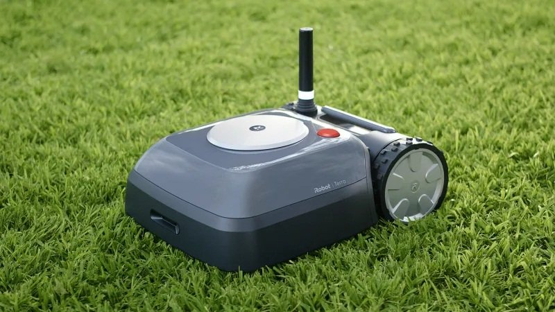Roomba's outdoor cousin, the iRobot Terra, will mow the lawn for you