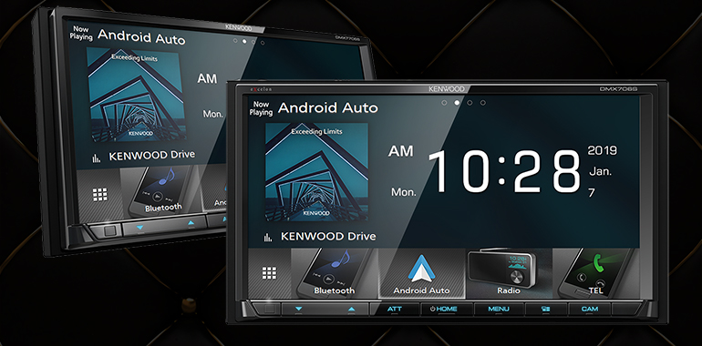 Kenwood introduces three Android Auto head units for 2019, topping