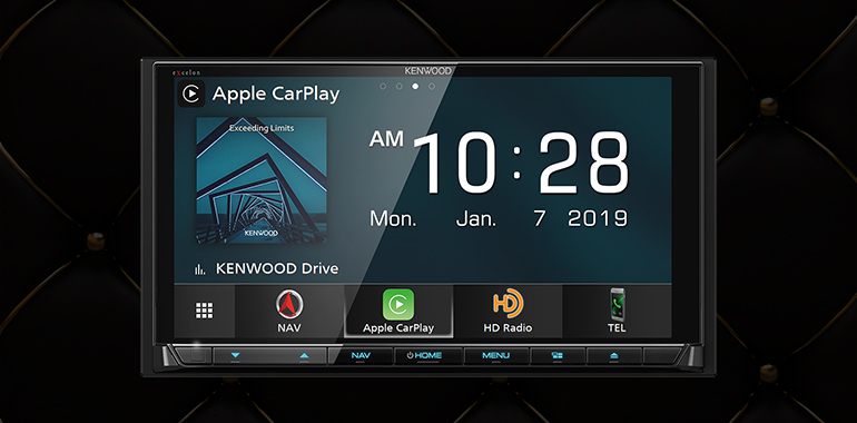 Kenwood introduces three Android Auto head units for 2019