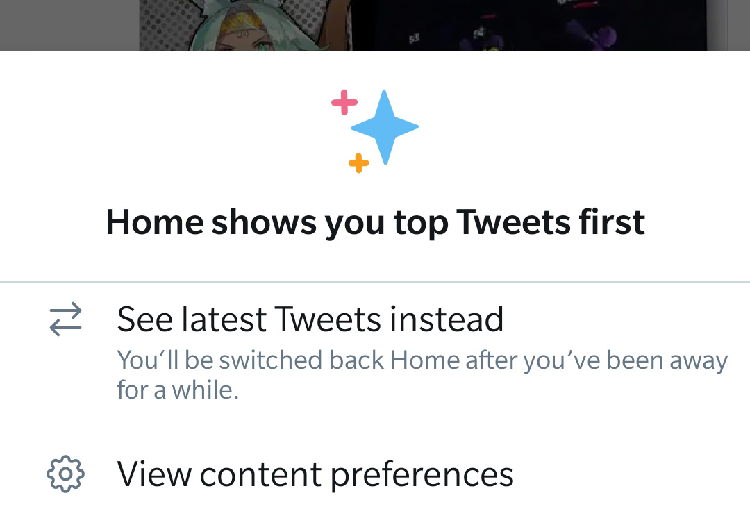 Twitter's chronological timeline rolls out to Android app