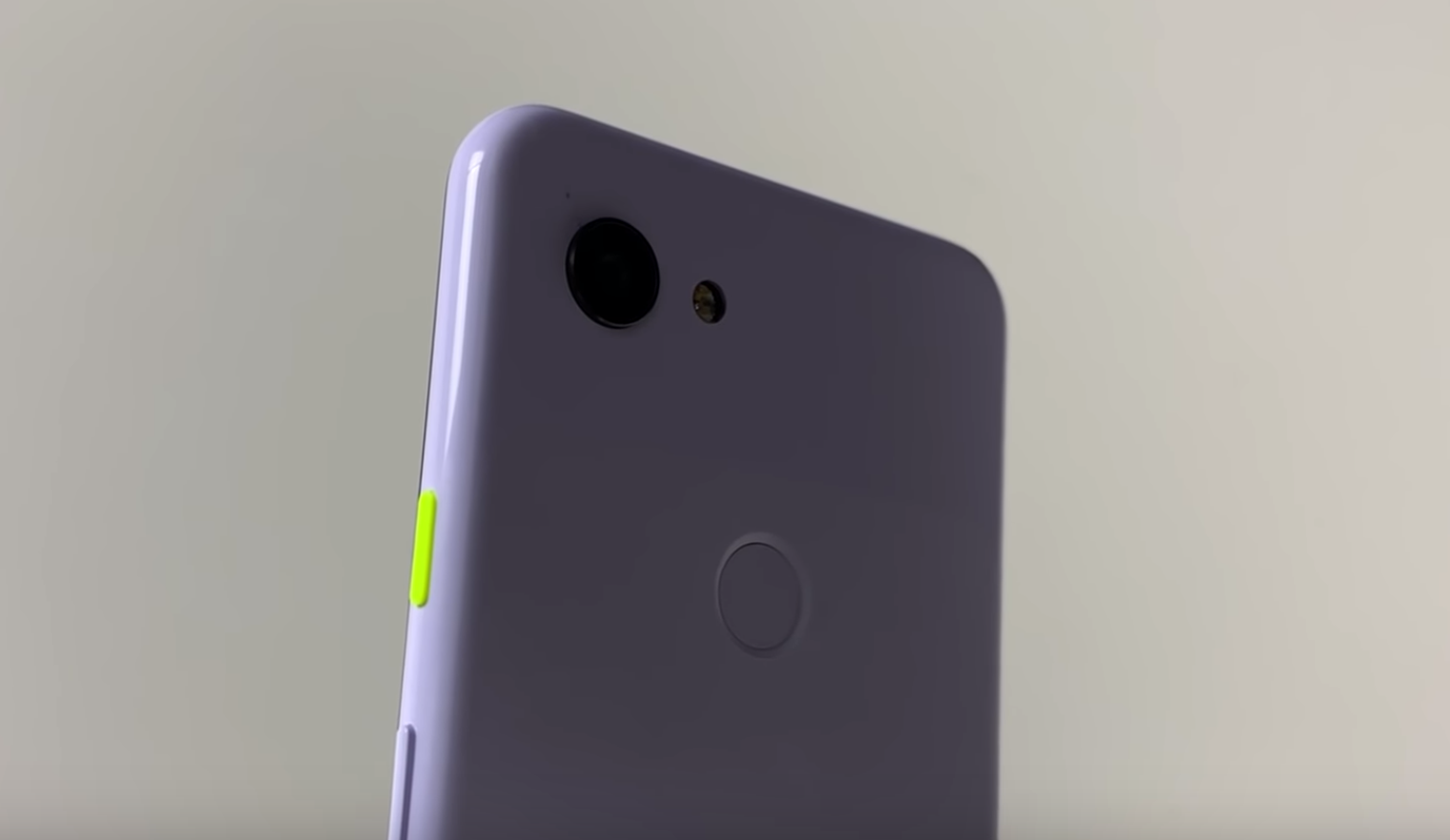 Google Pixel 3 Lite shown off on video