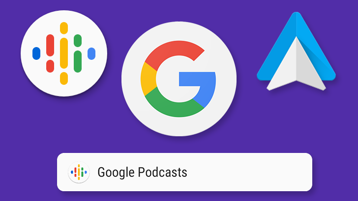 Google is bringing Android Auto support for their Podcasts app