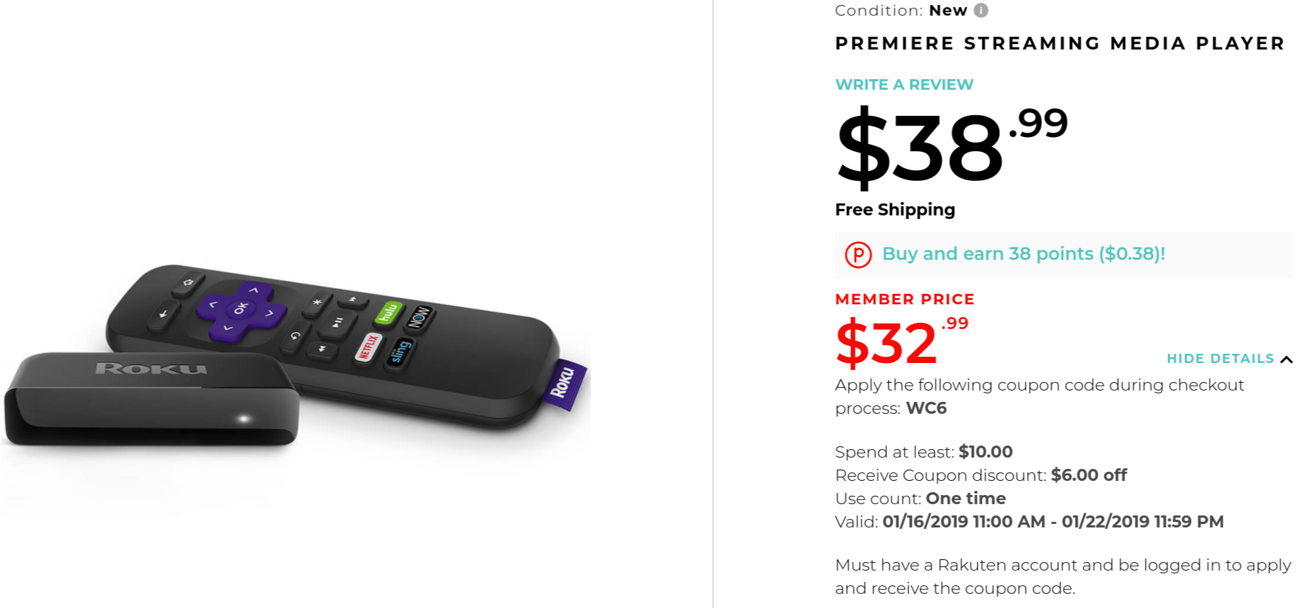 Update x2: $30 at several retailers] Pick up a 4K-streaming Roku
