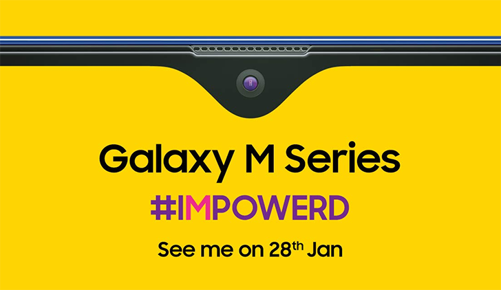 Samsung Galaxy M-series to launch in India on January 28