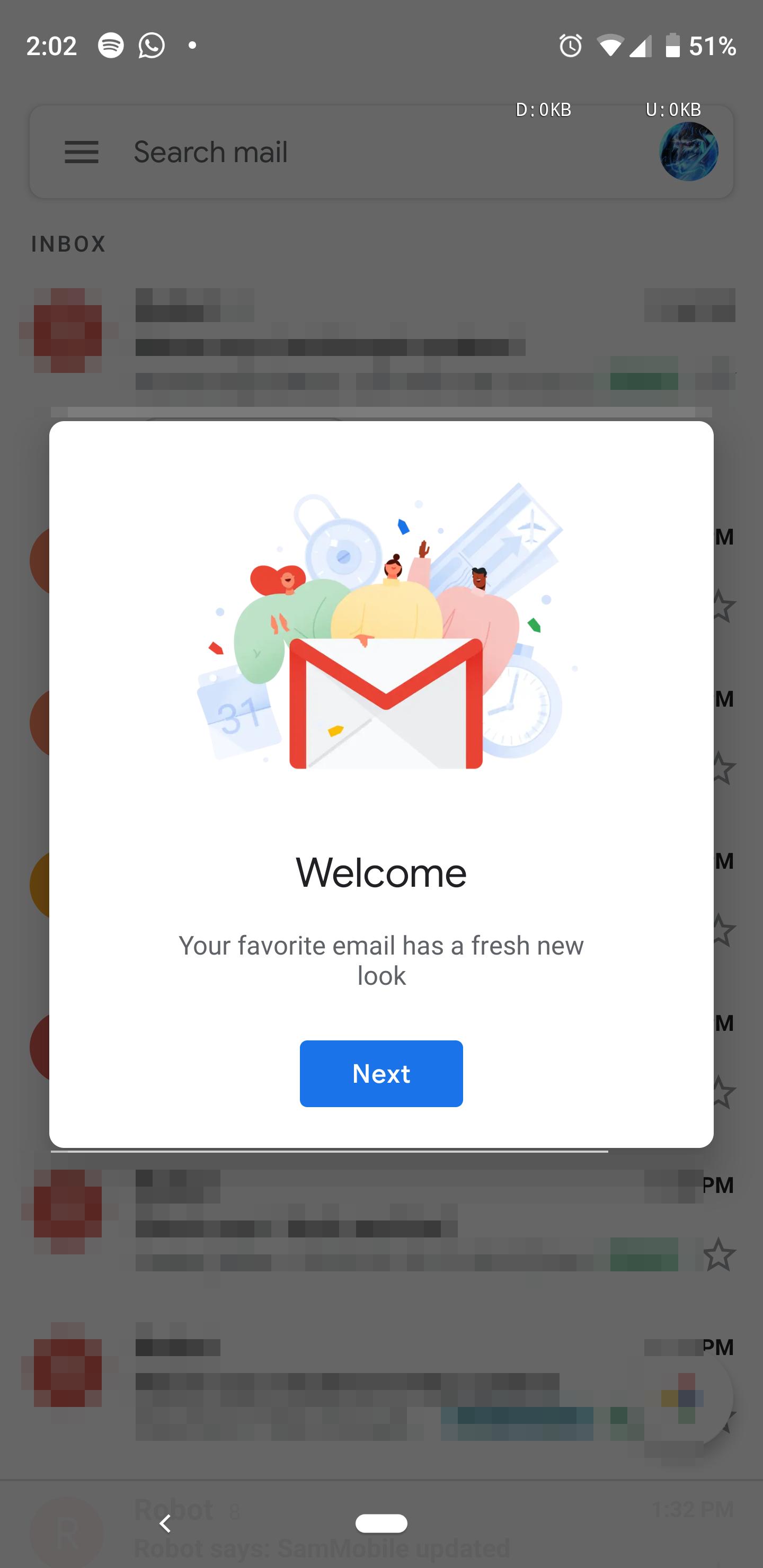 Update: APK Download] Blindingly bright Google Material