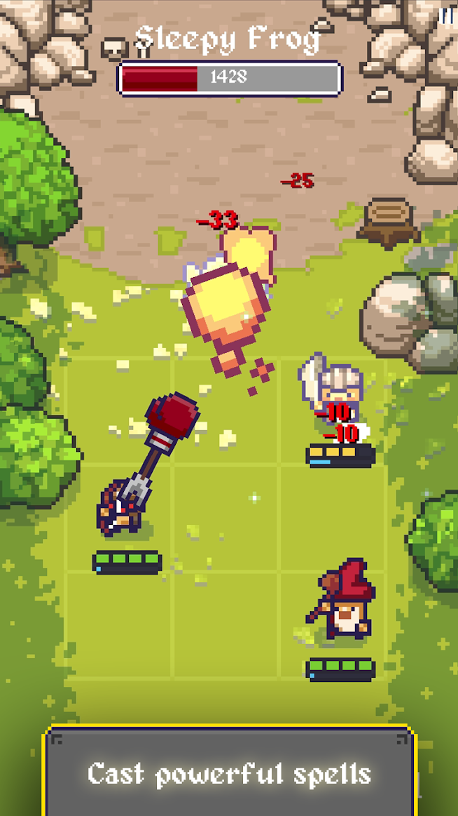 King Crusher is a new pixel-based roguelike from Ankama Games