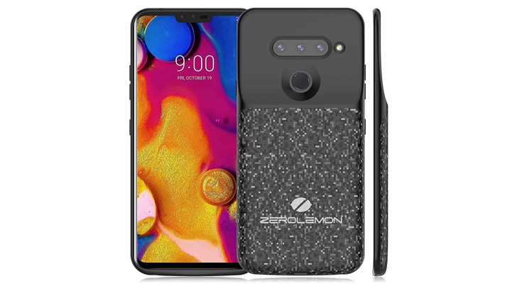 new styles 1686a 27797 ZeroLemon's latest ugly battery case is for the LG V40 ThinQ