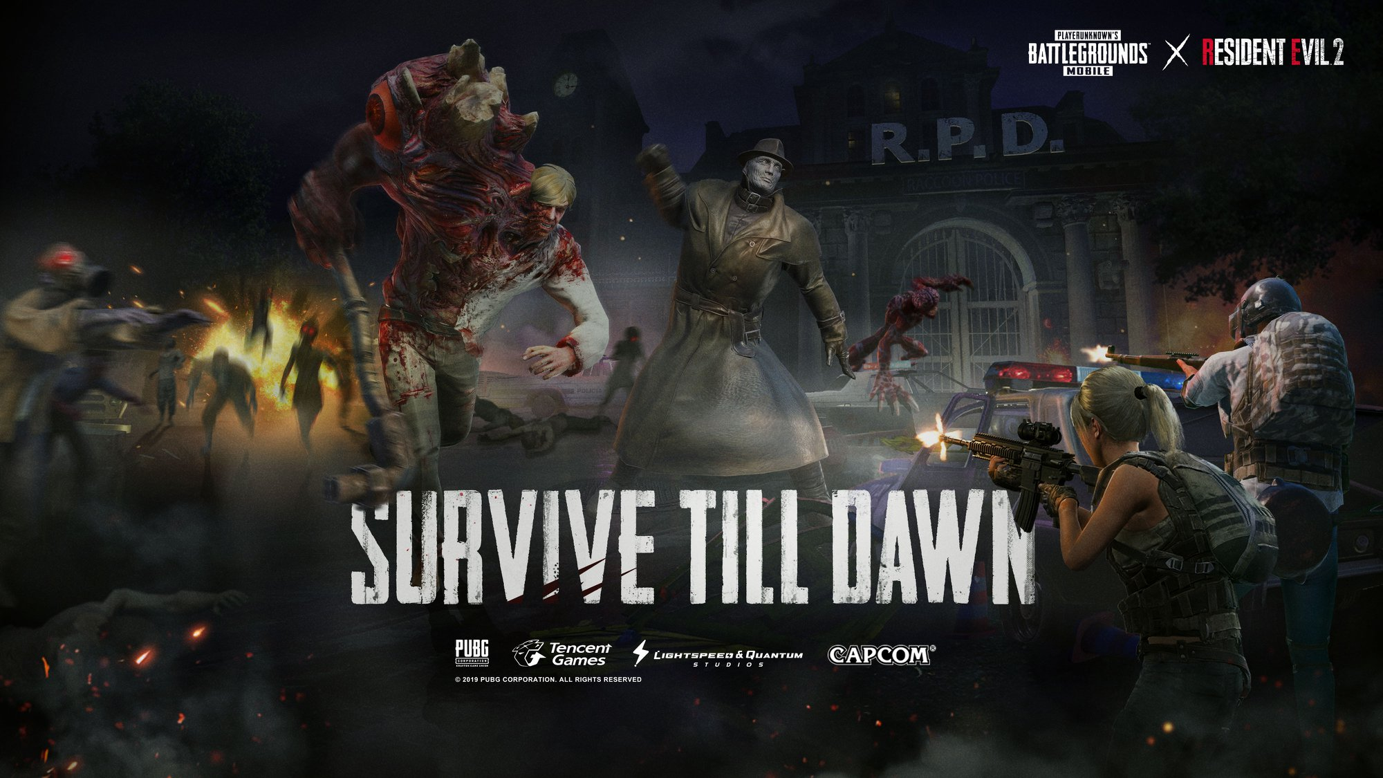 PUBG Mobile v0 11 0 update adds Resident Evil 2 zombies in a