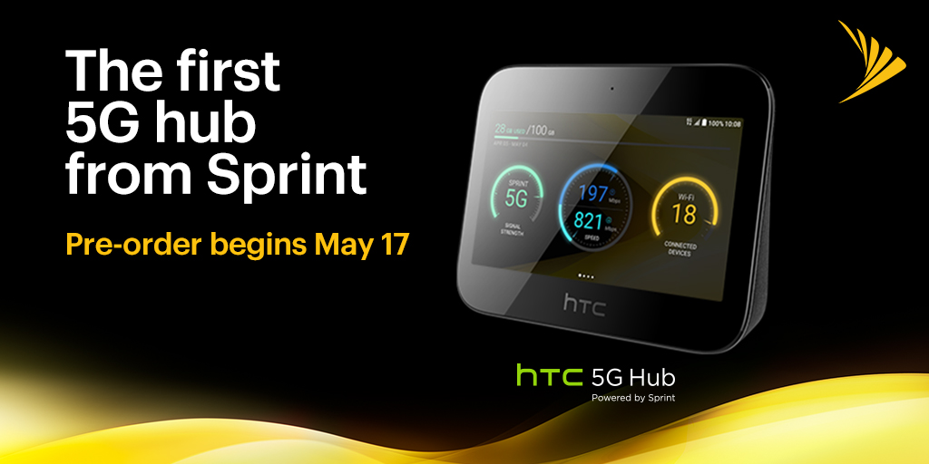 Update: Pre-orders live on Sprint] The HTC 5G Hub is coming